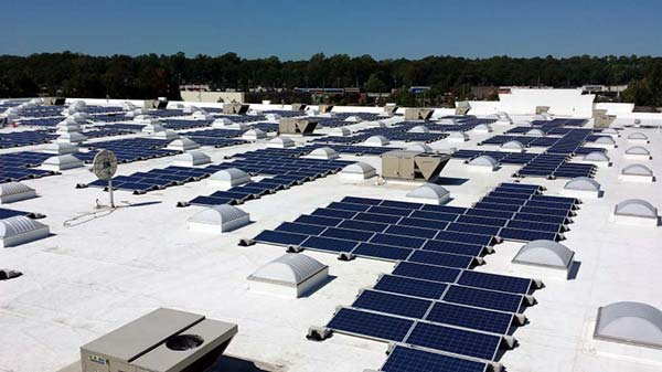 Solar Panel Mounts & Racks | Ballasted Flat-Roof Racking