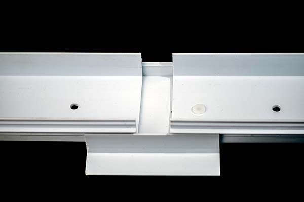 EcoTray base with two trays, demonstrating how easy EcoTray is to install