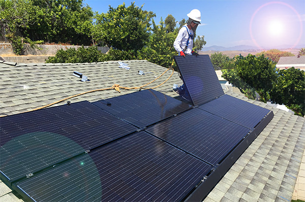 Solar Panel Mounts & Racks | Railless Mounting for Residential Roofs