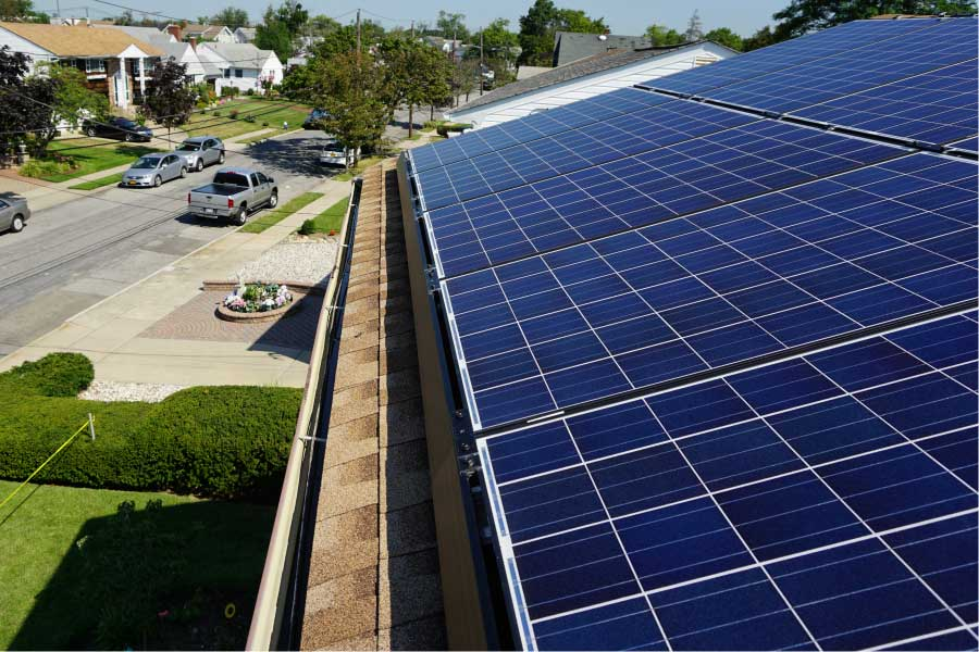 solar residential racking ecolibrium ballasted roof panel rooftop projects systems mounting rack solution