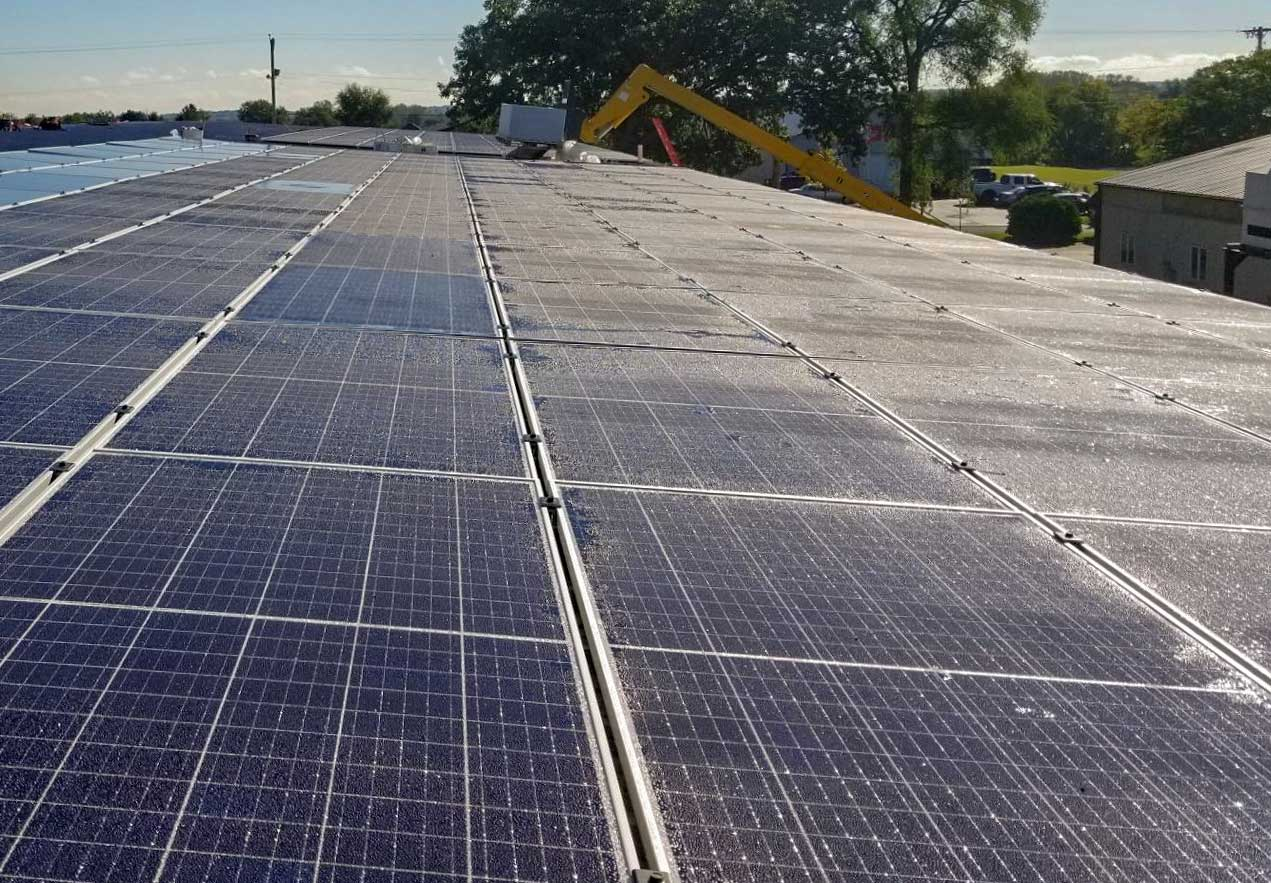 Solar Panel Roof Mount & Rack Systems   Ballasted Mounting