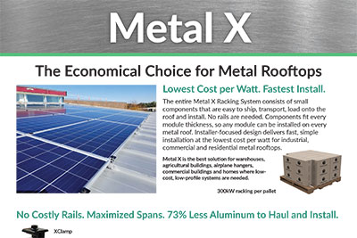 Solar Panel Roof Mount & Rack Systems | Ballasted Mounting & Racking